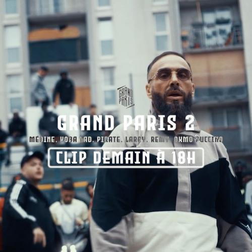 Médine feat Koba Lad, Larry, Pirate, Rémy & Oxmo Puccino - Grand Paris 2